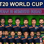 India Team Squad for ICC T20 World Cup