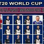 New Zealand Team for ICC T20 World Cup 2021 Players List