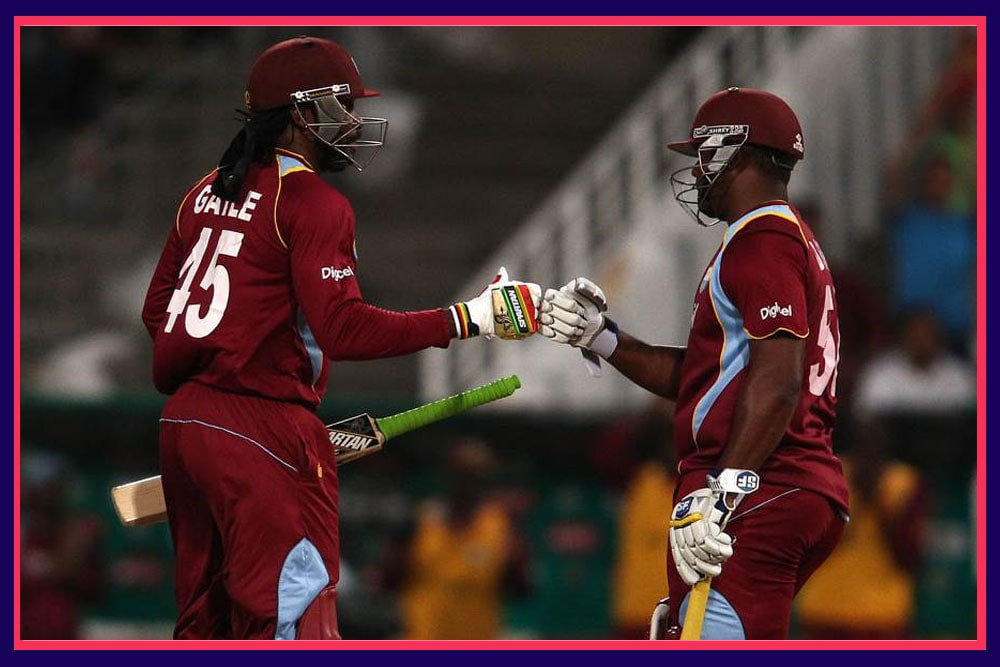 Chris Gayle and DS Smith