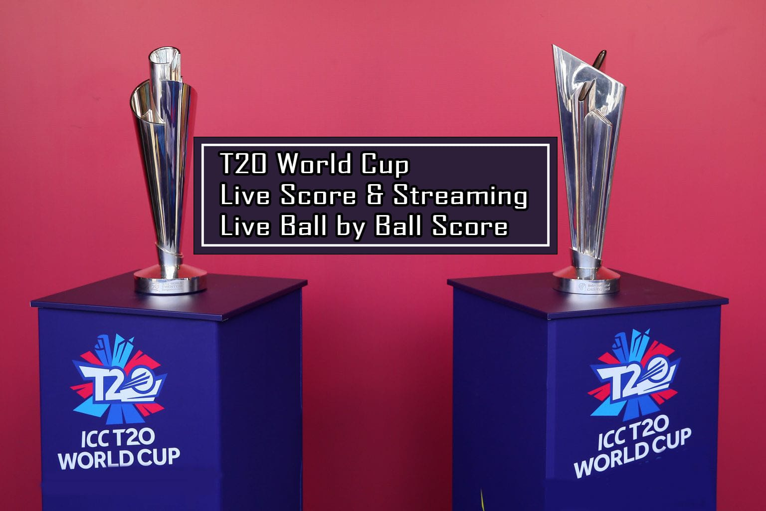 T20 World Cup Live Streaming